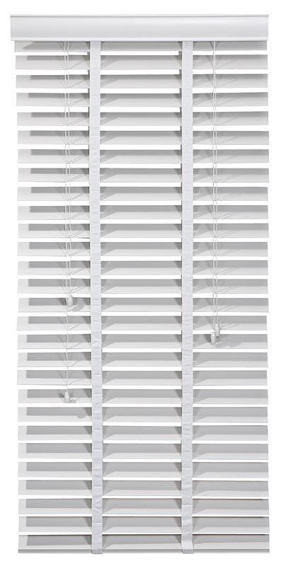 Houten jalouzie ladderband 50mm #leenbakker Dit is precies wat we willen voor het raam! :D :D
