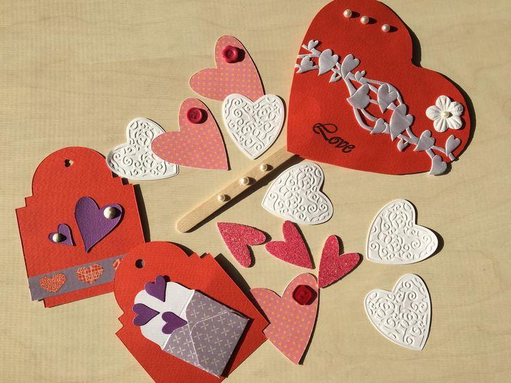 Valentine's day box Scatola di San Valentino.