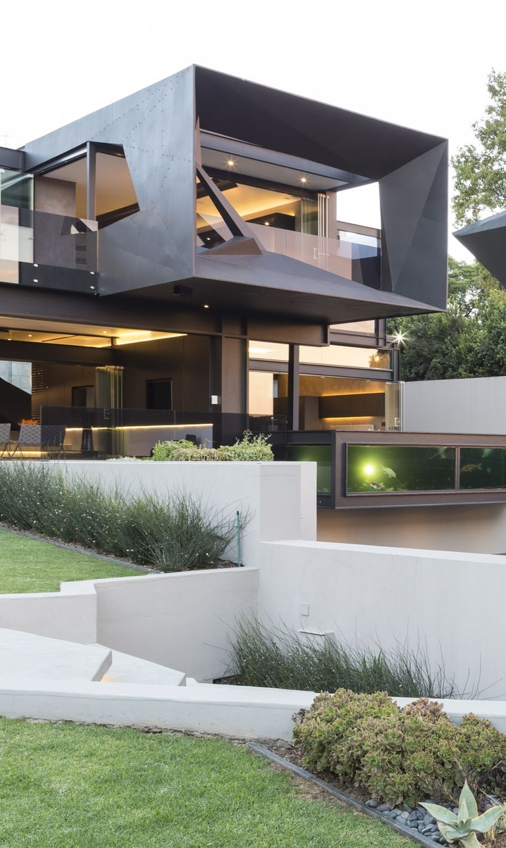 Ideas About Modern Contemporary Homes On Pinterest - House home design