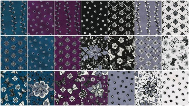 Ink Blossom II Pixie Strips - Sue Marsh - RJR Fabrics — Missouri Star Quilt Co.