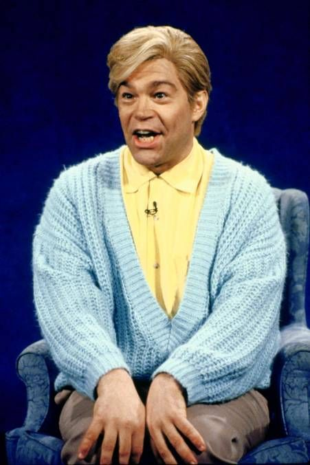 Stuart Smalley- He's good enough, he's smart enough and gosh darn it- people like him