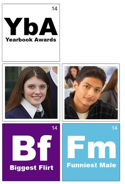 theme periodic table yearbook superlatives