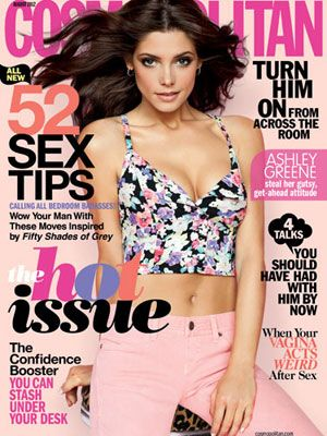 ashley greene cosmo cover august 2012