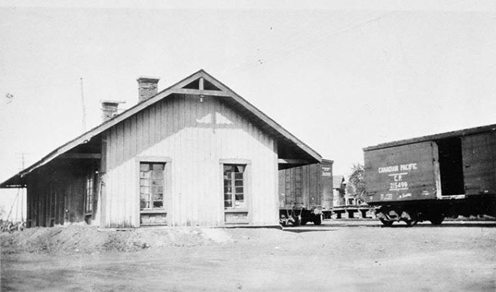 Ottawa's first railway terminus was opened by the Ottawa and Prescott Railway on December 24, 1854 at a temporary station in Ottawa, Ontario's New Edinburgh community. The permanent Mc Taggart Street terminus was opened at Sussex Street on May 10, 1855 Source: http://collectionscanada.gc.ca/pam_archives/index.php?fuseaction=genitem.displayItem&lang=eng&rec_nbr=3325381&rec_nbr_list=3394097,3367909,4314047,4301737,3383895,3400444,3318829,3319116,3358739,3358816,39222