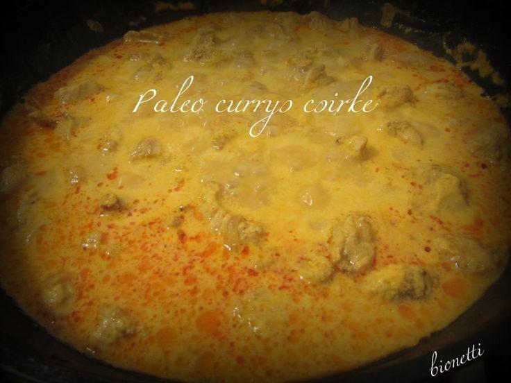 Paleo currys csirke