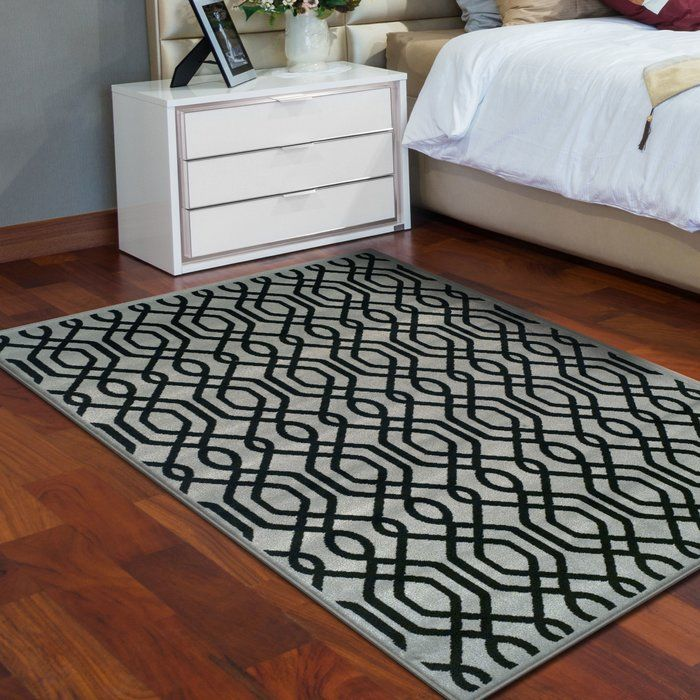 Altair Geometric Black Gray Area Rug With Images Area Rugs Rugs