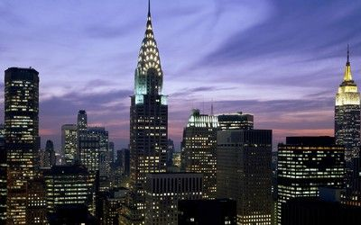 Empire State Building At Night Hd Wallpaper Empire State Building Building Breathtaking Places