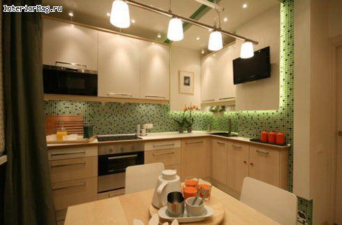Интерьер и дизайн кухни 9 кв.м. - 24 фото ремонта | ИнтерьерМаг.ру