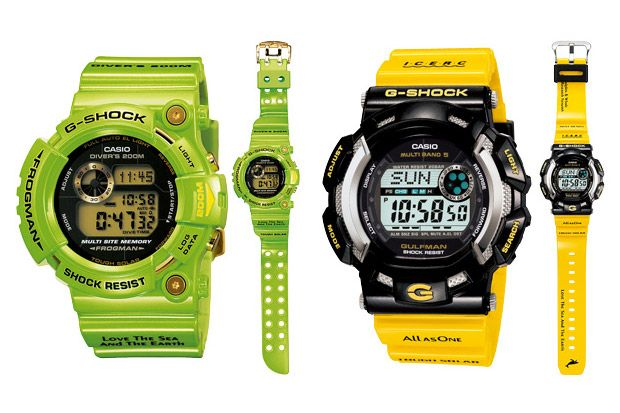Casio Frogman G-Shock Watches I got to state, I like all of these G Shocks, they are so cool.