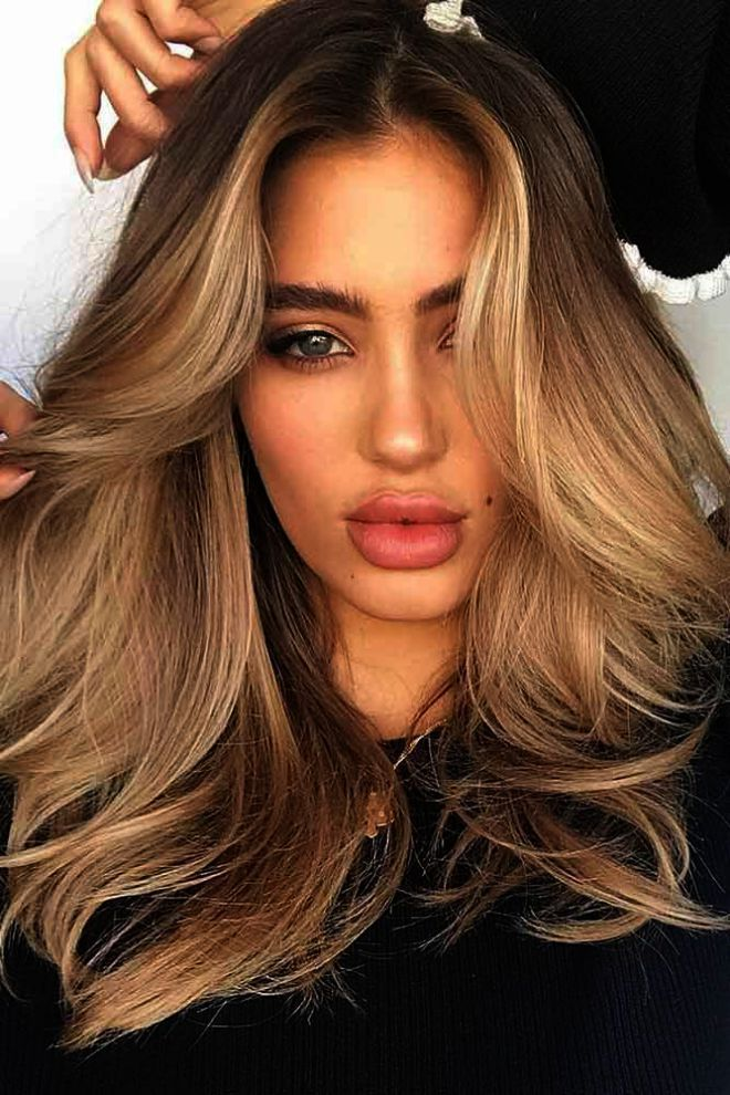 Hair Color Ideas For Brown Eyes And Olive Skin In Hair Color Ideas Brown Light Hair Color Hair Color Light Brown Blonde Hair Color