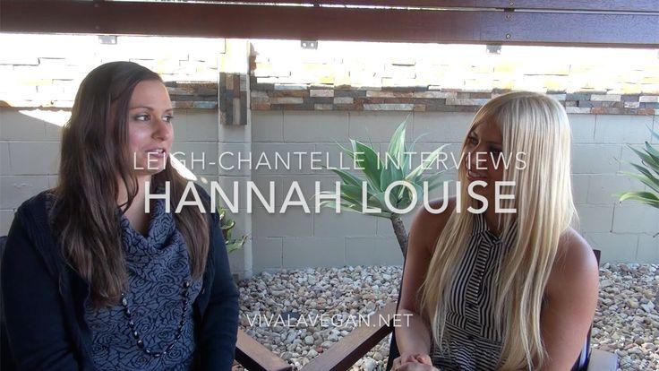 Leigh-Chantelle interviews interviews Online Holistic Vegan Coach, Hannah Louise https://www.youtube.com/watch?v=PSyDAm6Bgt4