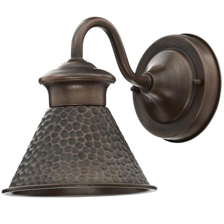 Home Decorators Collection Essen 1-Light Antique Copper