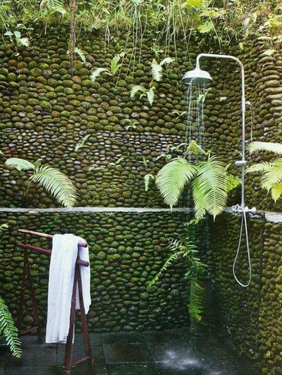 Outdoor Dusche Bauen : auf Pinterest Gartendusche, Outdoor Dusche und Solardusche