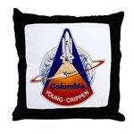 Space Shuttle Columbia (STS-1) Throw Pillow