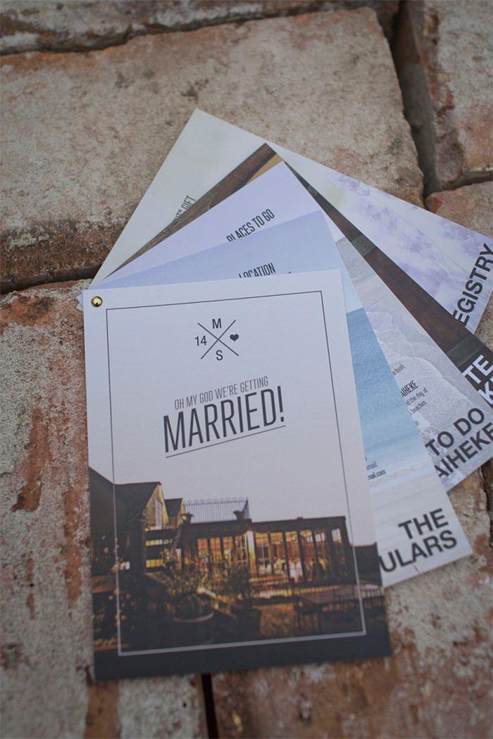 20 Most Creative Wedding Invitations You'll Ever Get - Hongkiat