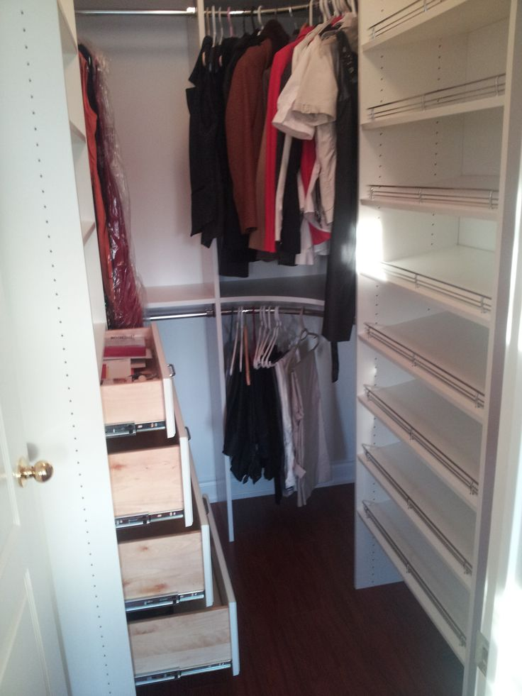 Another happy customer! Another custom closet done by My Living Organized. We service the Greater Toronto Area and beyond! Your personalized design consultant will work with you to make the custom closet of your dreams!! Contact us today for a FREE in-home design consultation. www.mylivingorganized.com #customclosets #custom #closet #organization #closetorganization #toronto #design