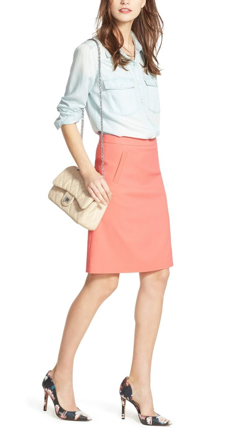 1000 ideas about coral skirt on coral maxi