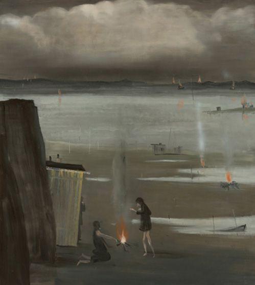 Norbert Schwontkowski. Zunder, 2010. Oil on canvas. 200 x 180 cm.    www.grimmgallery.com