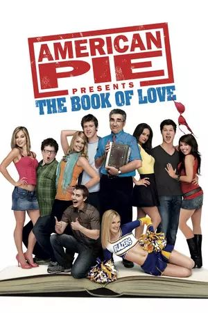 American Pie Presents: The Book of Love (2009) Ten years after the first American Pie movie, three new hapless virgins discover the Bible hidden in the school library at East Great Falls High. Unfortunately for them, the book is ruined, and with incomplete advice, the Bible leads them on a hilarious journey to lose their virginity.