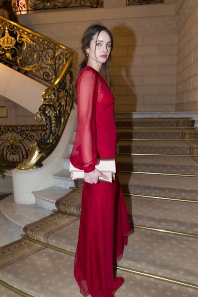 Clara Ponsot attends the CR Fashion Book Issue…