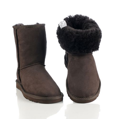 Cheap UGG Boots Clearance Classic Short Boots 5825 Chocolate