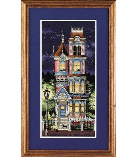 Sunset Counted Cross Stitch Kit-Victorian Charm at Joann.com