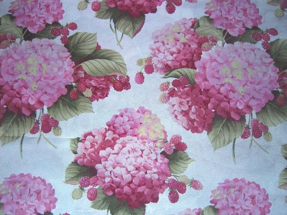 1000 Images About Hydrangea Fabric On Pinterest Vintage