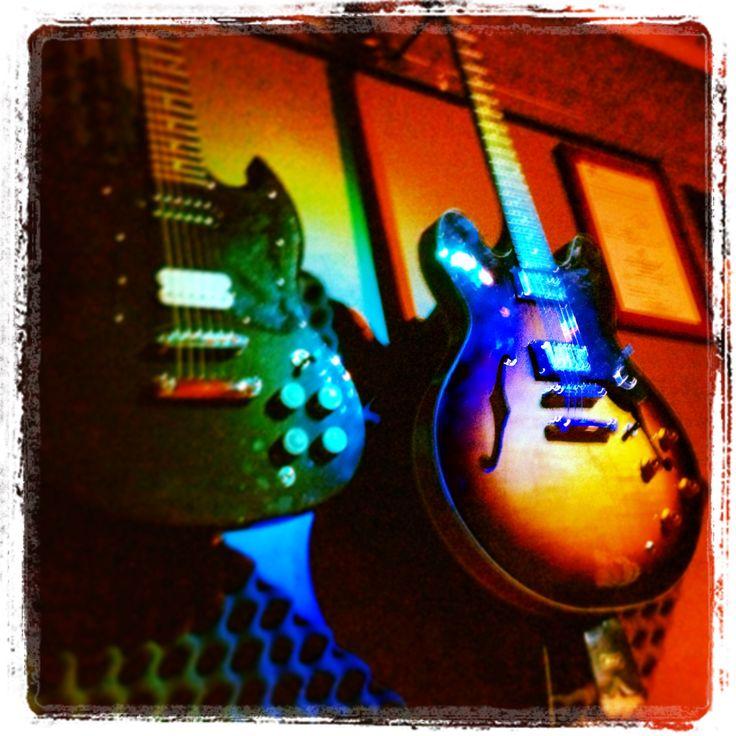 Guitars in Studio