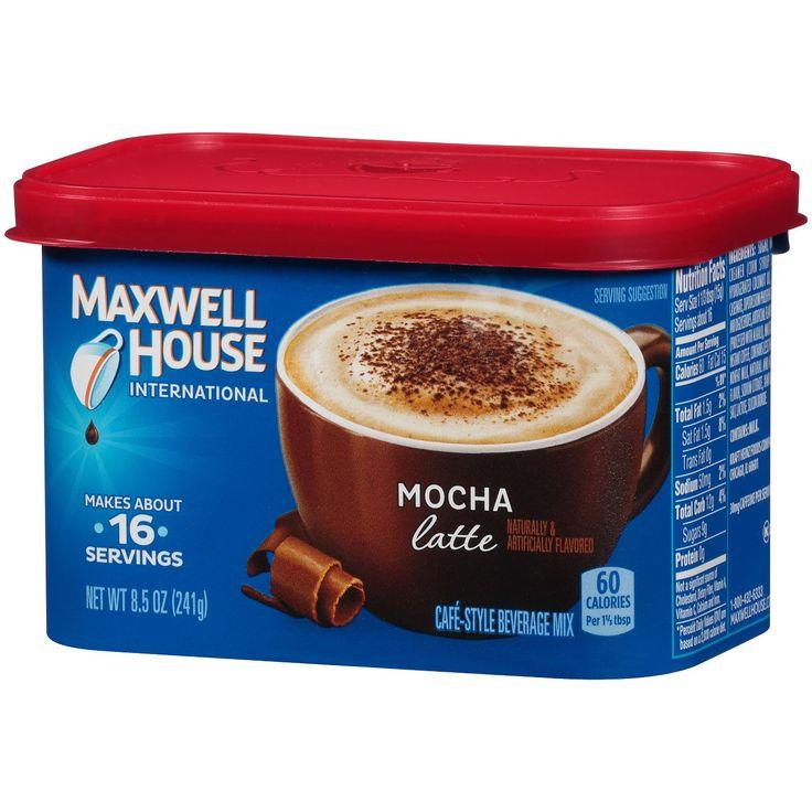 Maxwell House International Latte Mocha Medium Roast