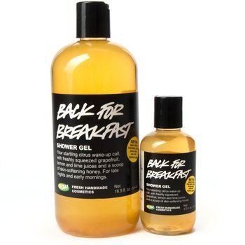 LUSH Cosmetics Discontinued Back For Breakfast Shower Gel - Very Rare! Large Size! $37 Shipped