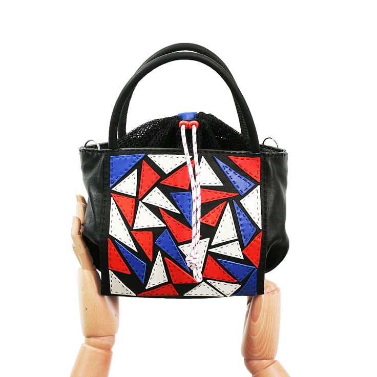 #023 TOTE PATCHWORK #marclago #bagscollection