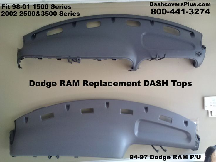 This is the BEST Solution if your 98-02 or 94-97 Dodge RAM DASH Board is completely missing or