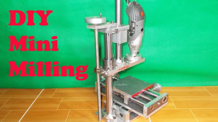 Homemade Vertical Milling DIY X Y Z Axis Slide Router How To Build Mill Machine PCB Wood Drill CNC Lathe