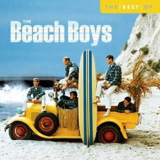 "Early 1960s photo of The Beach Boys on a 2005 ""best of"" compilation album by EMI, featuring ""Ten Best"" songs."