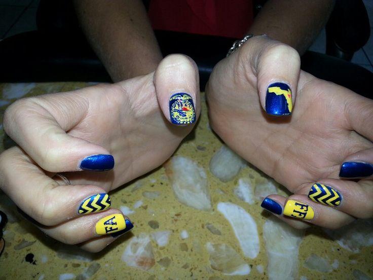 FFA Nails for national FFA week!