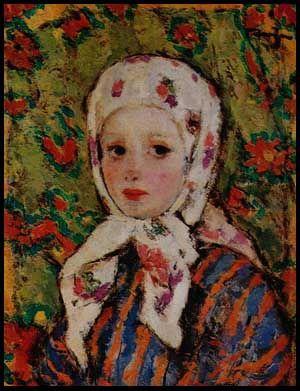Nicolae Tonitza (Romanian: 1886-1940) | Katyusha the Lipovan Girl