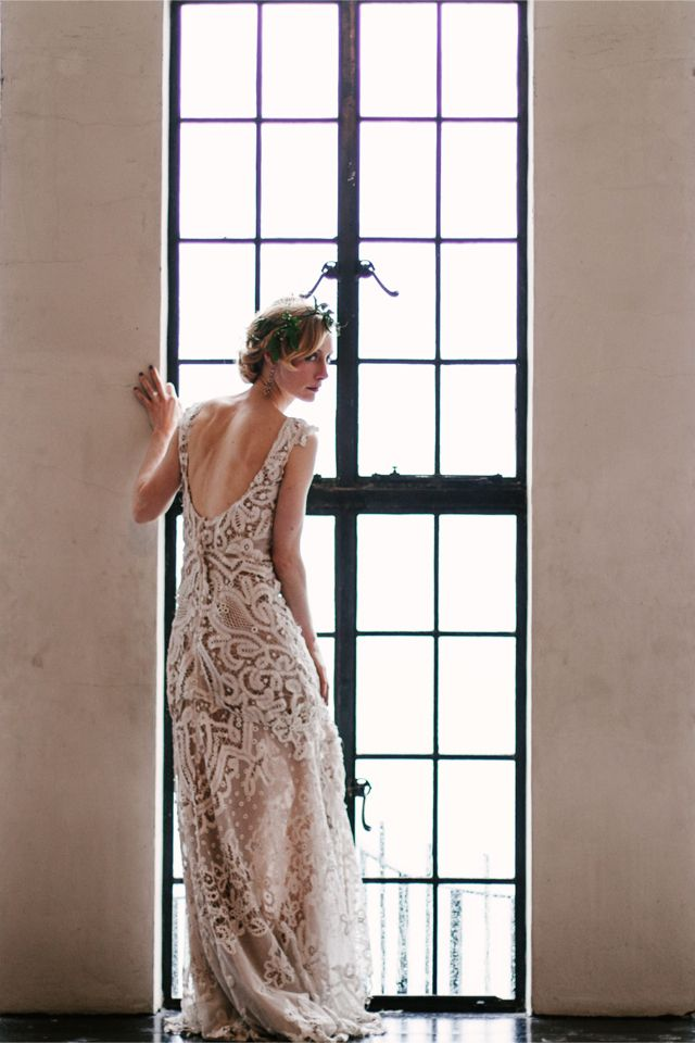 Mignonette Bridal - Art Deco Wedding Dress / Spark and Tumble Photography