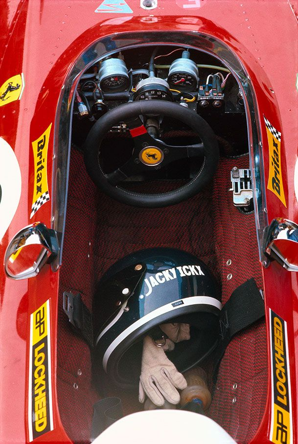 Jacky Ickx, 1971 Ferrari 312B