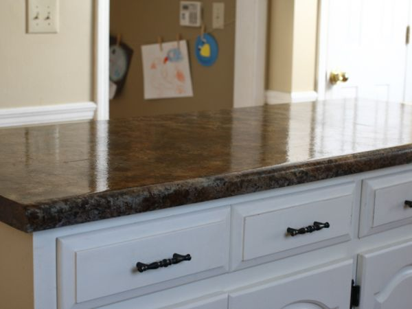 17 best images about faux granite counter tops how to on for Can you paint granite countertops