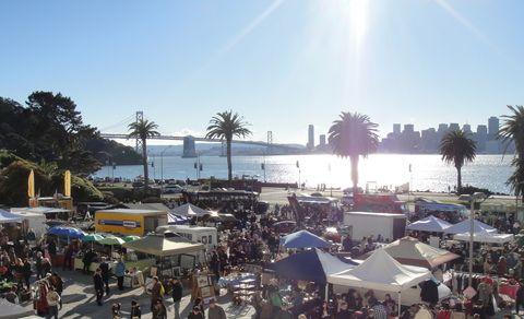 San Francisco:  Treasure Island Flea