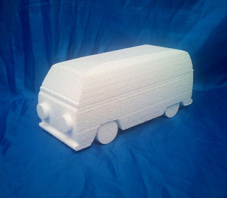 Custom cut vw campervan cake dummy for customer