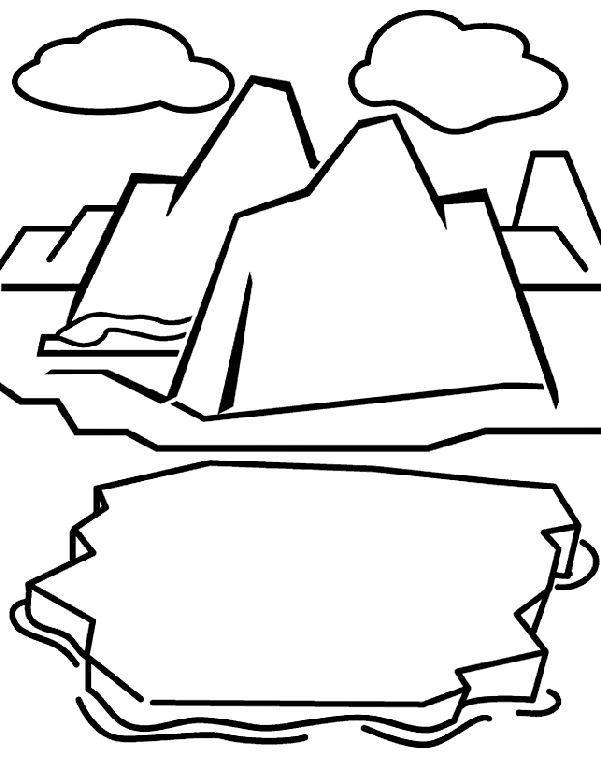 Glacier On Crayola Free Coloring PagesPolar