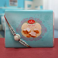 Something Sweet @ http://www.rakhibazaar.com/rakhi-with-sweets-3.html #Rakhibazaar #OnlineRakhi #Shopping