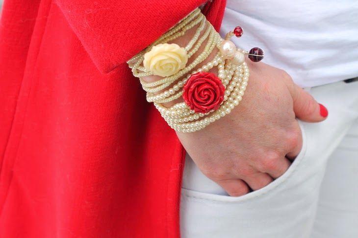 #bracelets #jewels #bijoux #roses