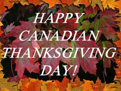 The first Canadian Thanksgiving was observed in 1872. Since 1957 it has always been held on the second Monday in October, which coincidentally is Columbus Day in the U.S.