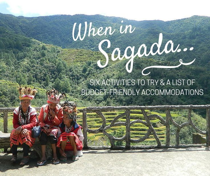 When in Sagada... Try these activities and check out a list of accommodations to help you plan your trip.