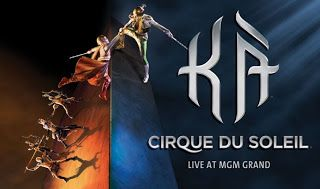 KĂ ~ Cirque du Soleil: Η παράσταση στο MGM του Λας Βέγκας - Τσόκαρο blog