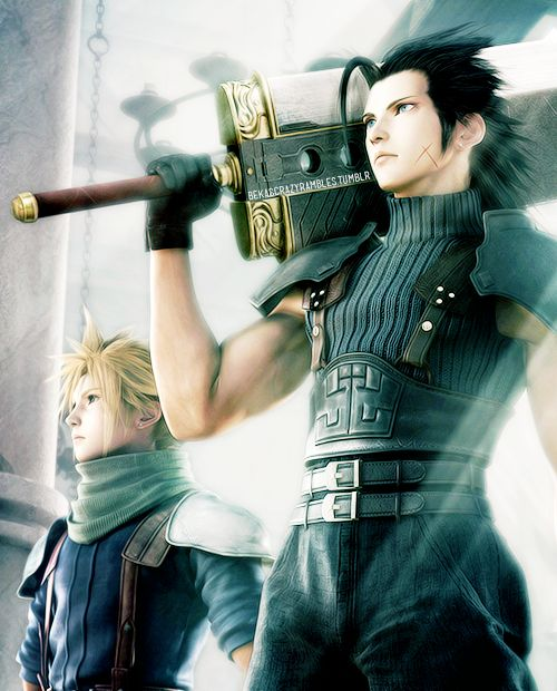 Final Fantasy: Crisis Core — Zack and Cloud