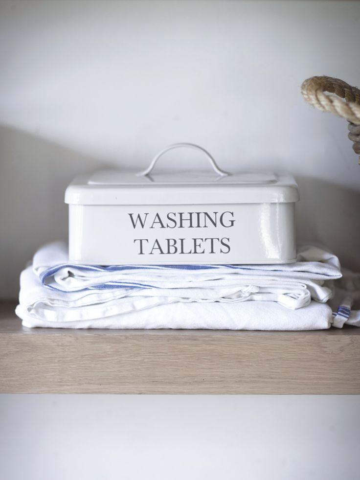 Cox & Cox   Washing Tablet Box   £17.50 (£5.95 p&p)