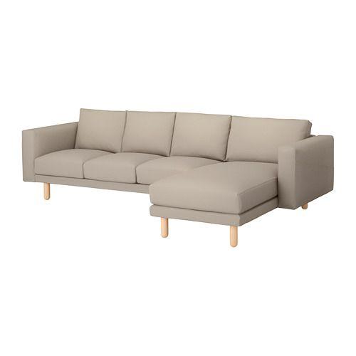 Ikea Sofa Bed IKEA NORSBORG three seat sofa and chaise longue